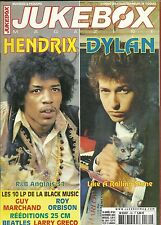 MAGAZINE - JUKEBOX : JIMI HENDRIX, BOB DYLAN, ROY ORBISON, BOB MARLEY,THE STONES