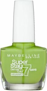 maybelline superstay 7 Days Matte nail colour 660 lime me up
