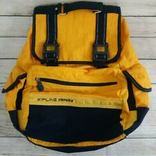 Kipling Safety Backpack Yellow/Blue Reflective