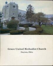 GRACE UNITED METHODIST CHURCH DAYTON OHIO YEARBOOK & DIRECTORY 1980 PB COND: VG