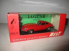 "JAGUAR ""E"" COUPE' ROSSO GUIDA A SX 9012/2 BEST MODEL SCALA 1:43"