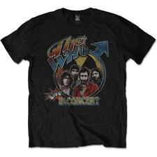 OFFICIAL LICENSED - THE WHO - LIVE IN CONCERT T SHIRT ROCK DALTREY