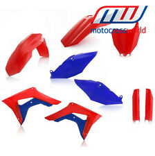 SPECIAL EDITION ACERBIS Honda Plastic Kit For CRF450 2017 (BLUE)  Patriot Kit