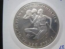 BRD, alemania 10 dm 1972 F-olimpiada 1972 en munich - (293)