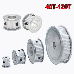 3mm Pitch 40T-120T Timing Belt Pulley Synchronous Wheel Gear For 15mm Width Belt