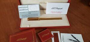 St Dupont Gatsby 18k EF  Fountain pen