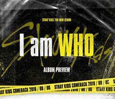 STRAY KIDS 2nd Mini Album [I am WHO] CD+Photobook+QR Photocard+Lyrics+Pre-Order