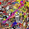 HUGE Sticker Bomb JDM Japan Euro Drift Vinyl Decal Honda Nissan Jap sheet