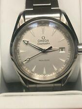 Mens OMEGA Seamaster Aqua Terra Grey Dial Quartz 2016 Rio Paralympic Games Watch