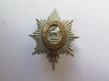 ROYAL WORCESTERSHIRE REGIMENT COLLAR BADGE GENUINE WORLD WAR I ISSUE c1914