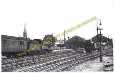 Lincoln St. Marks Railway Station Photo. Newark Line. Midland Railway. (5)