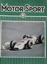 Motor Sport magazine December 1965
