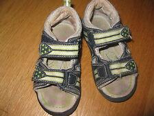 Sandalen Jungen Gr. 23 Lederdecksohle Sommerschuhe verstellbar Leder