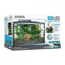 Kit Acuario Marina 10G LED para Peces Tropicales, Agua Fría y Marinos