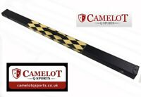 Snooker/Pool 3/4 Snooker Cue Case. Black/Yellow Diamond. Free Delivery!