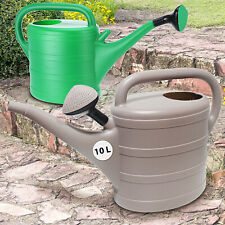 10L Plastic Watering Can Garden Sprinkler Lawn Plants Flower Diffuser Head Spout