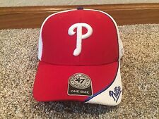 New with tags, Philadelphia Phillies red white baseball hat, MLB authentic