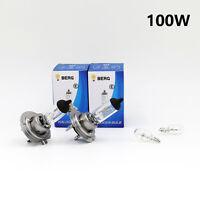 H7 100w BRIGHT CLEAR HALOGEN (477/499) Head Light Bulbs 12v + W5W 501 Sidelights