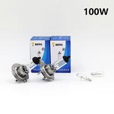 H7 100w Halógeno Claro Brillante (477/499) Cabeza Bombillas 12v + W5W 501 SIDELIGHTS