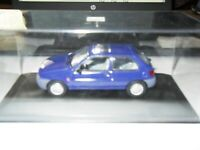MINICHAMPS FORD DEALER MODEL - FORD FIESTA MK5 5DOOR DK BLUE METALLIC 1:43 SCALE