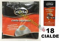 CAFFE' MOTTA BOX 18 CIALDE ESPRESSO UNIVERSALI MONODOSE CAFFE A PROVA DI BAR
