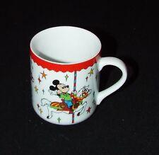 Disney World Mickey, Minnie Mouse, and Donald Duck, Merry Go Round Ceramic Mug