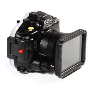 PRO 40M Waterproof Underwater Housing Case For Panasonic DMC-LX100 24-75mm Lens