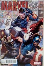 Marvel Backlist Reading Chronology Comic Book Issue #1 Promo NM SDCC 2011