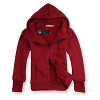 Mens Winter Warm Hoodie Hooded Coats Sweater Sweatshirt Sport Casual Outwear Top
