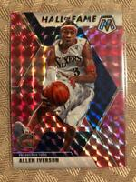 Allen Iverson 2019-20 Panini Prizm Hall of Fame Pink Camo INSERT SP The Answer