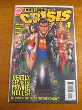 Wow! IDENTITY CRISIS #1 **2X SIGNED: MICHAEL TURNER & PETER STEIGERWALD!** COA