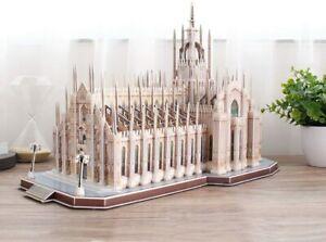 Puzzle 3D monumenti famosi struttura solida alta precisione dei dettagli