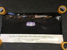 Olympics 1996 Opening Ceremonies Centennial Games Sports Poster