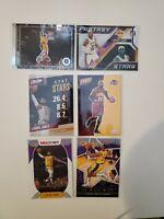 2017/2018/2019/2020/2021 Panini LeBron James 6 Card Lot Cavaliers/Lakers
