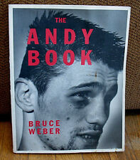 SIGNED Bruce Weber The Andy Book Photographs 1st PB DJ Boxer Minsker