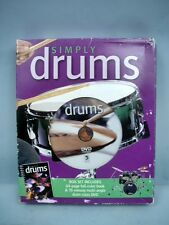 Simply Drums Course Mib by Cameron Skews - Book & Dvd