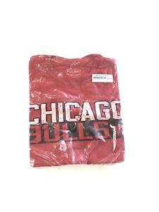 Dwayne Wade #3 Chicago Bulls Red T Shirt  Men's Medium NBA Store NWT Last Dance