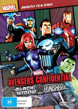 Avengers Confidential - Black Widow & Punisher Marvel Animated : NEW /SEALED DVD