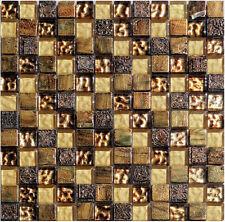 1 Netz Replica Mosaik Gold Glas Stein Mosaik Granit Marmor Fliesen