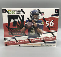 2020 DONRUSS NFL FOOTBALL MEGA BOX RED BURROW HERBERT TUA HURTS RC PRIZM AUTO