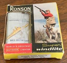 New listing Brand New Rare Vietnam 1954 Uss Boston Windlite