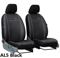 TOYOTA HILUX 2005-2016 ECO LEATHER /& ALICANTE FRONT UNIVERSAL SEAT COVERS
