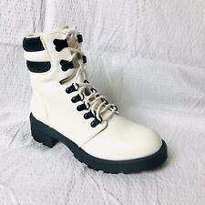 White MIA Women's Lace Up Boots- Size 8M