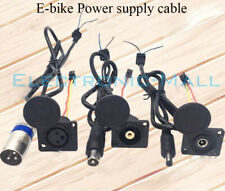 DC2.1 XLR Canon Video Plug Cable Connector eBike Li-ion Battery Charger Cable