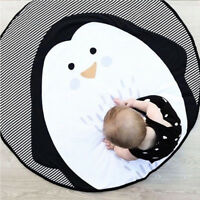EG_ FM- Penguin Animal Baby Toddler Play Crawling Mat Carpet Infant Activity Rug