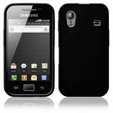 AMZER Soft Gel TPU Gloss Skin Case Cover for Samsung Galaxy Ace S5830 - Black