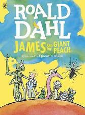 James and the Giant Peach (Colour Edition)-ExLibrary