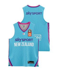 New Zealand Breakers 20/21 Youth Authentic Away Jersey, NBL Basketball