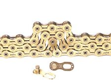 KMC X10 SL Gold 10 Speed KMC X10SL 112 Links Compatible Shimano & Sram Chain New