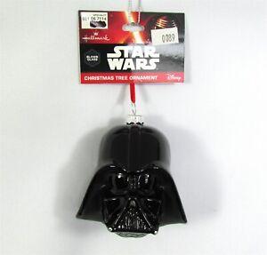 Star Wars Holiday Ornament Darth Vader Disney Hallmark Blown Glass Xmas